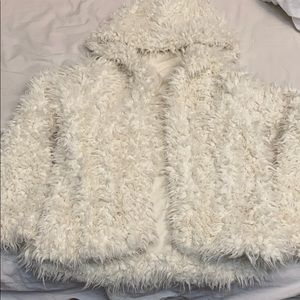 Free people fuzzy jacket